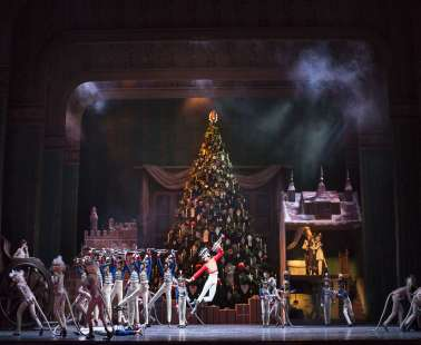 """THE NUTCRACKER "": Peter Wright's production for The Royal Ballet, Broadcast from the Royal Opera House!"