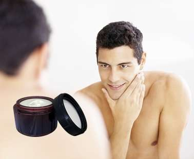 Moisturising cream: Necessary for men too