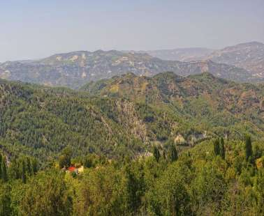 Camping and walking in Troodos
