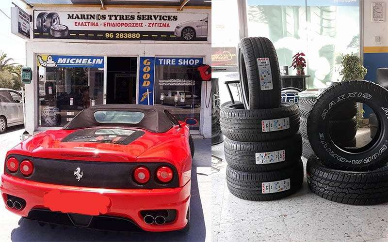 Marinos Tyre Services